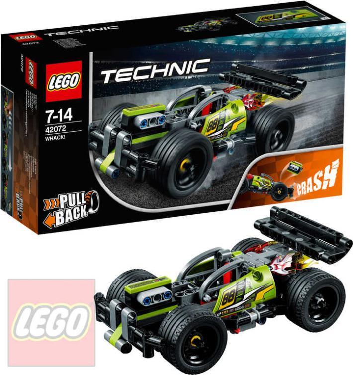 LEGO TECHNIC Zelený závoďák STAVEBNICE 42072