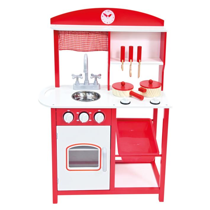 Bino dřevěná kuchyňka s příslušenstvím 5ks