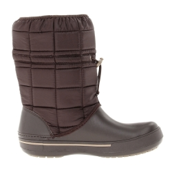 CROCS CROCBAND II.5 WINTER BOOT W7 37-38 / Espresso / Khaki
