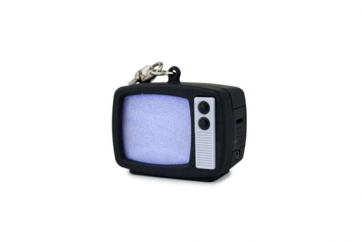 LED klíčenka televize